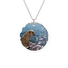 Yellow Labrador Necklace