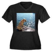 Yellow Labrador Plus Size T-Shirt