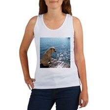Yellow Labrador Tank Top
