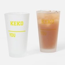 Funny Keko Drinking Glass