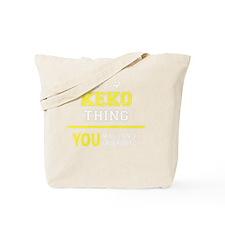 Cute Keko Tote Bag