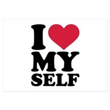 I love myself 3.5 x 5 Flat Cards