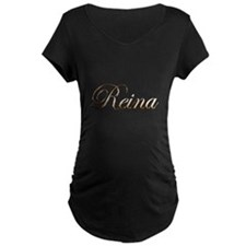 Gold Reina T-Shirt