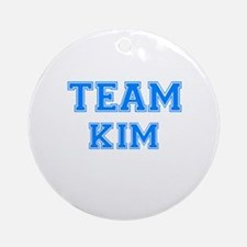 TEAM KIM Ornament (Round)