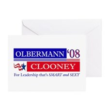 Olbermann_Clooney Greeting Cards (Pk of 10)