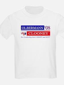 Olbermann_Clooney T-Shirt