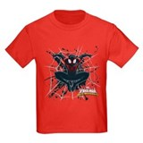 Miles morales Kids T-shirts (Dark)