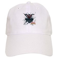Ultimate Spider-Man Miles Morales Splatter Baseball Cap