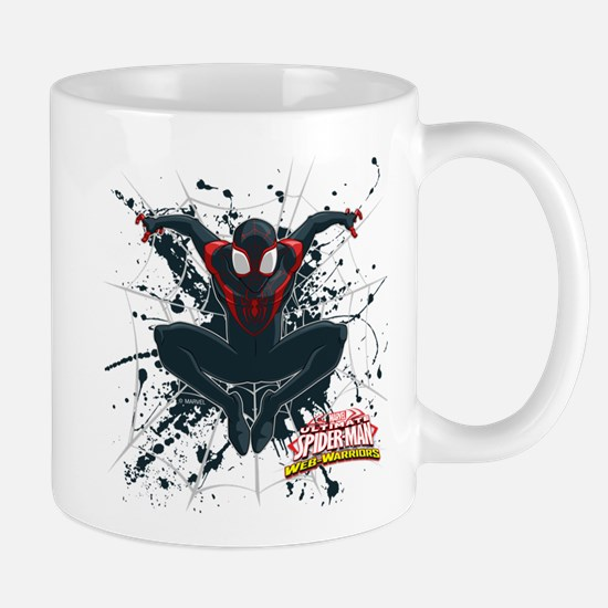 Ultimate Spider-Man Miles Morales Splat Mug