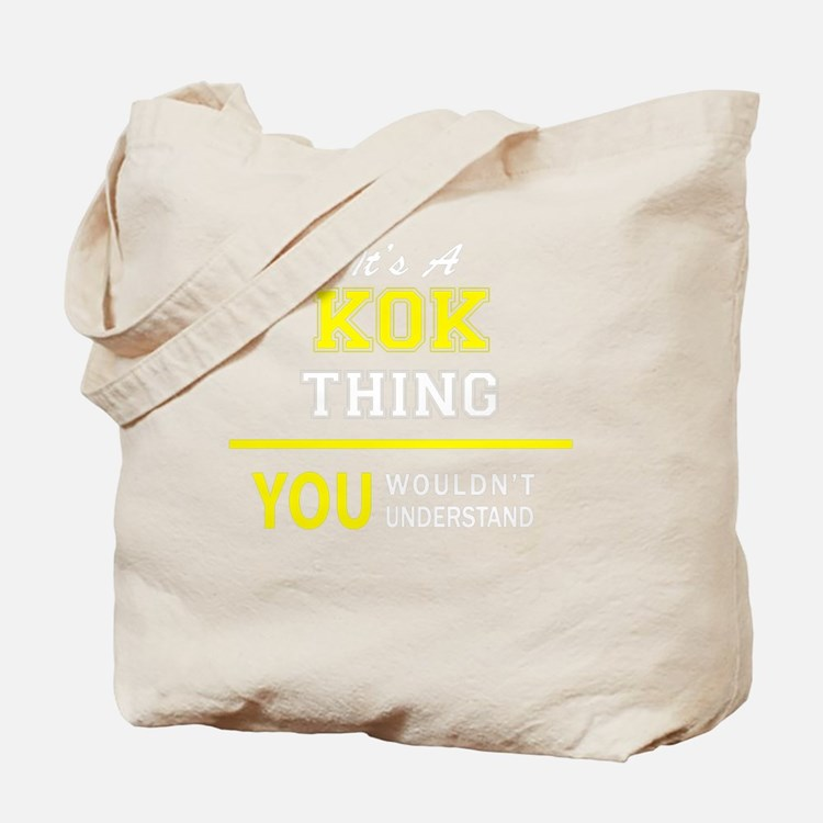 Cute Kok Tote Bag
