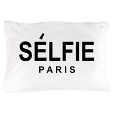 SELFIE PARIS Pillow Case