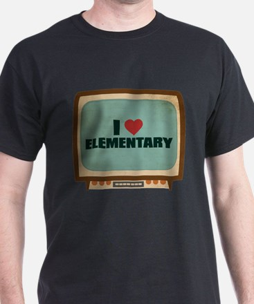 Retro I Heart Elementary T-Shirt