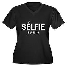 SELFIE PARIS Plus Size T-Shirt