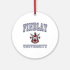 FINDLAY University Ornament (Round)