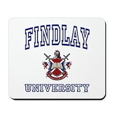 FINDLAY University Mousepad