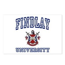 FINDLAY University Postcards (Package of 8)