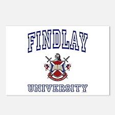 FINDLAY University Postcards (Package of 8)