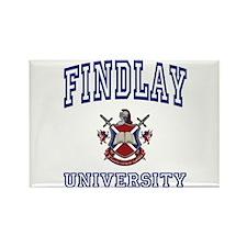 FINDLAY University Rectangle Magnet
