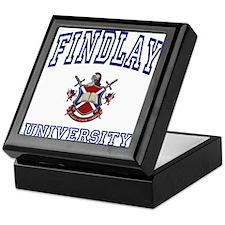 FINDLAY University Keepsake Box