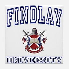 FINDLAY University Tile Coaster