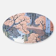 Monkey Bridge Kai, Hiroshige Decal