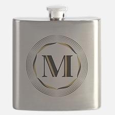 M Monogram Flask