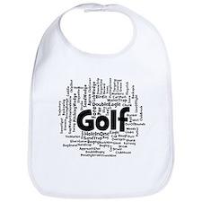 Cute Golfing hole in one Bib