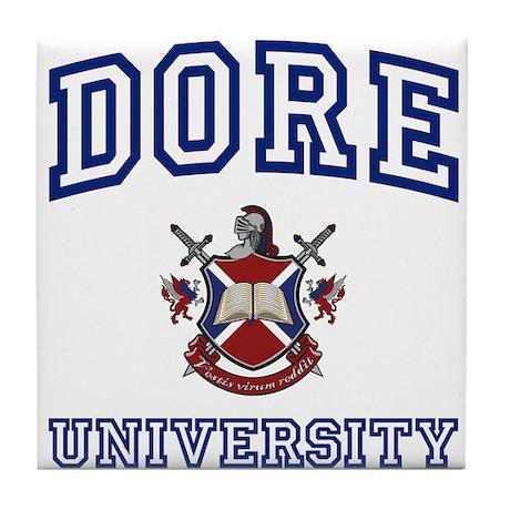 DORE University Tile Coaster