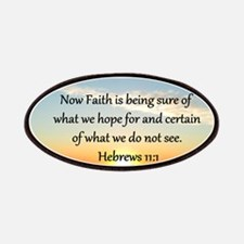 HEBREWS 11 Patches