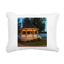 Fall Gazebo Rectangular Canvas Pillow
