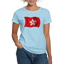 Wavy Hong Kong Flag T-Shirt
