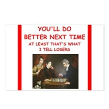 chess Postcards (Package of 8)