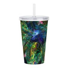 Hummingbird Acrylic Double-wall Tumbler