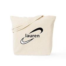 Lauren logo Tote Bag
