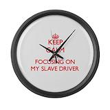 Master/slave Giant Clocks