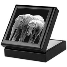 Mud Mother and Daughter Keepsake Box