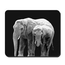 Mud Mother and Daughter Mousepad