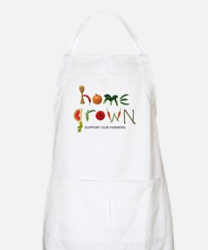 Home Grown. Support our Farme BBQ Apron