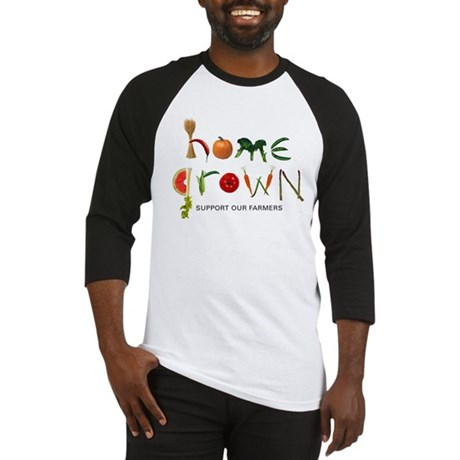 Home Grown. Support our Farme Baseball Jersey