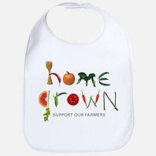 Home Grown. Support our Farme Bib