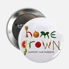 """Home Grown. Support our Farme 2.25"""" Button (10 pac"""
