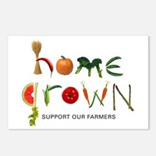 Home Grown. Support our Farme Postcards (Package o