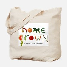 Home Grown. Support our Farme Tote Bag