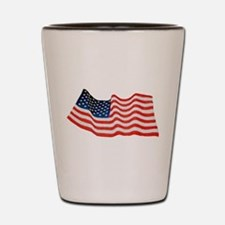 U.S. Flag Shot Glass
