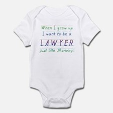 When I Grow Up ... (Mommy/Blu Infant Bodysuit