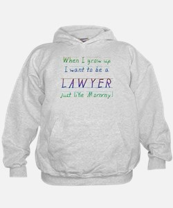 When I Grow Up ... (Mommy/Blu Hoodie