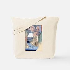 Monkey Bridge Kai, Hiroshige Tote Bag