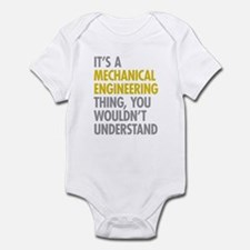Mechanical Engineering Thing Infant Bodysuit
