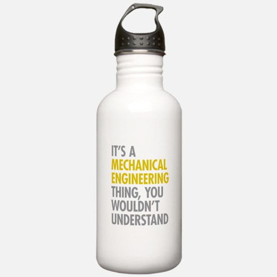Mechanical Engineering Water Bottle