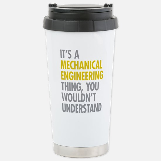 Mechanical Engineering Stainless Steel Travel Mug